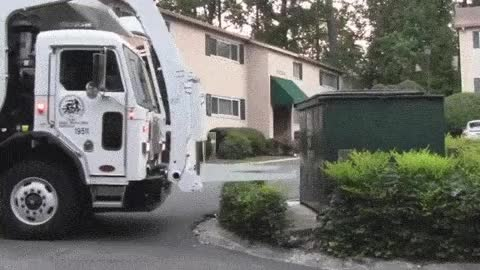 Watch and share Garbage Truck - Front Load Fun - 17 Minutes Of Action GIFs on Gfycat