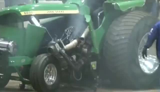 Watch and share Tractorpulling - Best Of Crash USA GIFs on Gfycat