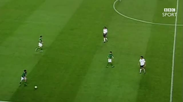 Watch and share BBC Sport - Robbie Keane's Favourite Republic Of Ireland Goal V Germany - World Cup 2002 (25/8/16) GIFs on Gfycat
