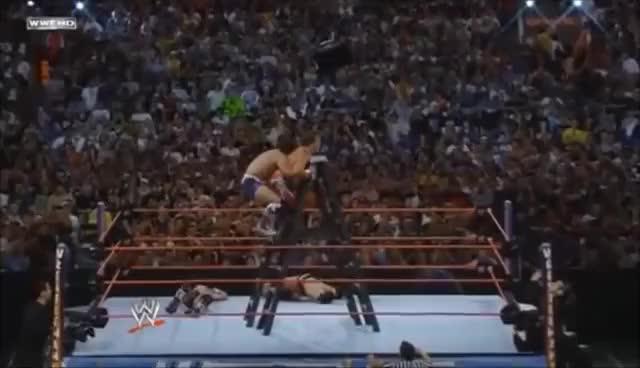 Carlito Backstabber Chris Jericho