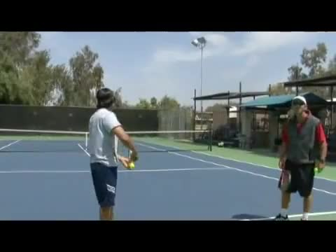 Watch Tennis Serve & Return Tips : Tennis Flat Serve GIF on Gfycat. Discover more continental, eastern, free, grip, grips, instruction, return, serve, tennis, tips GIFs on Gfycat