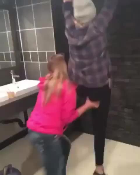 Women, ceiling, fall, girl, What ceiling? GIFs
