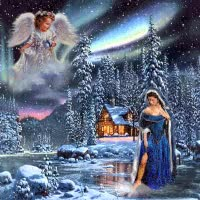 Watch and share Merry Christmas Angels Animated GIFs on Gfycat