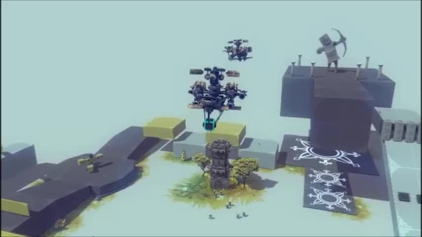 attack helicopter, besiege, dogfight, Helicopter Dogfight GIFs