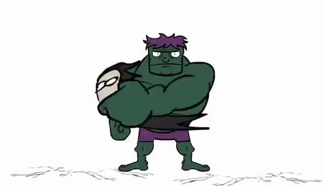 Watch and share Hulk GIFs and Loki GIFs on Gfycat