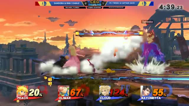 CEO Dreamland 2017 Smash 4 - Samsora & RNG | Dabuz  Vs. P1 | Tweek & Captain Zack SSB4 Doubles LQ