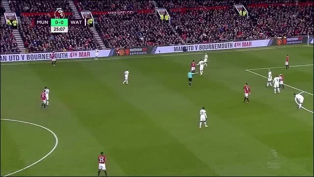 Watch and share Manchester United Vs Watford – Mata Goal, Pogba Skills & More! GIFs on Gfycat