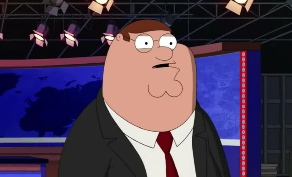Suspicious, aha, family, griffin, guy, hmm, i, peter, really, see, think, Family Guy - Conspiracy Theory GIFs