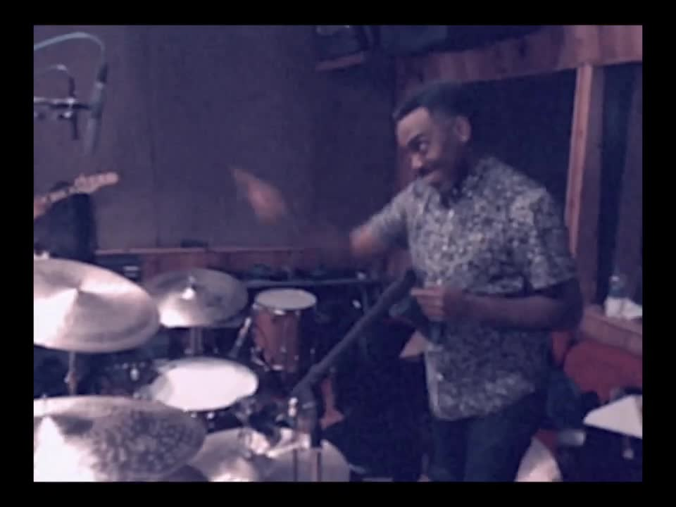 colbert band, cory wong, funk jazz, jazz funk, jon batiste, louis cato, music, nate smith, piano jazz, point, pointing, recording studio, sear sound, stay human, stratocaster, vulfpeck guitar, vulfpeck studio, Nate Smith point GIFs