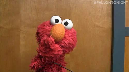 Watch and share Reaction Gifs GIFs and Sesame Street GIFs on Gfycat