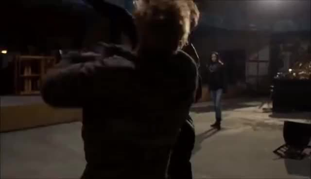 daredevil, defenders, iron fist, luke cage, The Defenders - Daredevil fights The Iron Fist GIFs