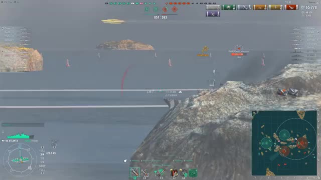 Watch double BB kill with atlanta torps (right between both BB's) GIF by @topace6 on Gfycat. Discover more Gaming, WoWS Replays, World of Warships GIFs on Gfycat