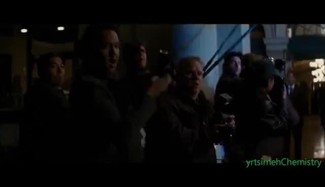 TDKR - Bruce Wayne Disables Cameras GIFs
