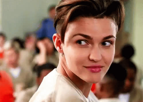 flirt, oitnb, orange is the new black, ruby rose, sexy, stella, wink, Ruby Rose Wink GIFs