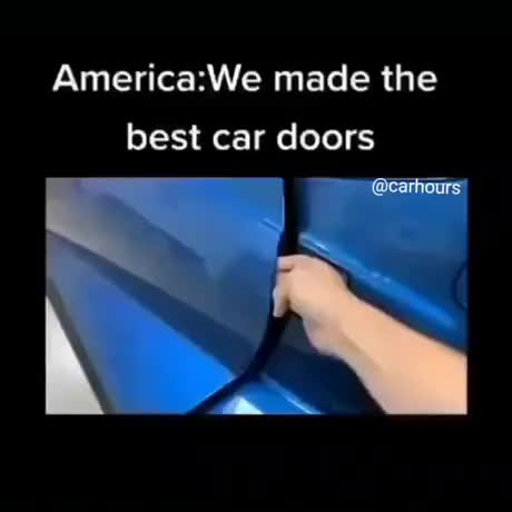 The best car door - gif
