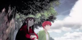 Watch battle. GIF on Gfycat. Discover more ellie, fate, fate stay night, mygifset, shirou emiya, tohsaka rin GIFs on Gfycat