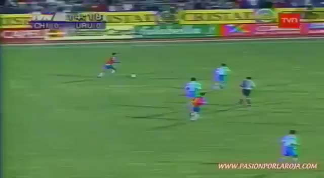 Watch and share SALAS - Chile V Uruguay, 1996 GIFs on Gfycat