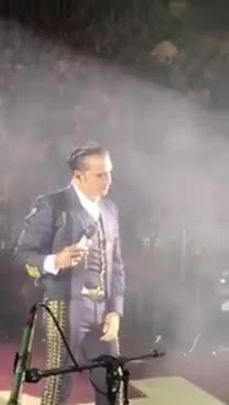 Watch and share Alejandro Fernández Casi Vomita En Palenque Puebla 2017 GIFs on Gfycat
