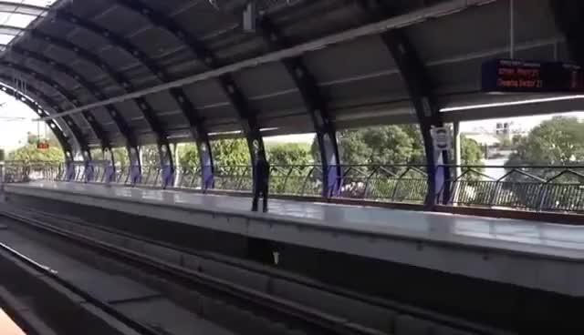 Watch and share Metro  Delhi - World Class Train . GIFs on Gfycat