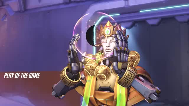 Watch and share Overwatch GIFs and Zenyatta GIFs by Warriorbud on Gfycat