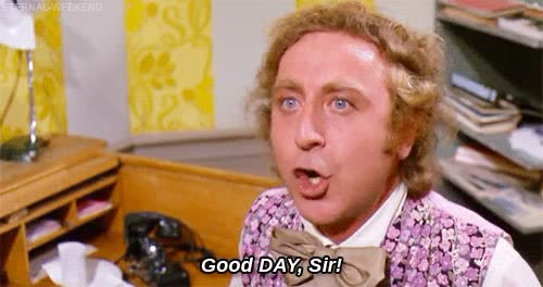 Watch and share Gene Wilder GIFs and Getout GIFs by Reactions on Gfycat