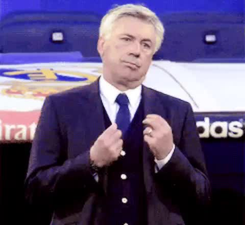 Watch and share Carlo Ancelotti GIFs and Celebs GIFs on Gfycat