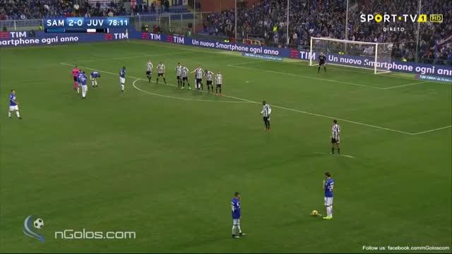 Watch and share (www.nGolos.com) Sampdoria 3-0 Juventus - Ferrari 79' GIFs by minieri on Gfycat