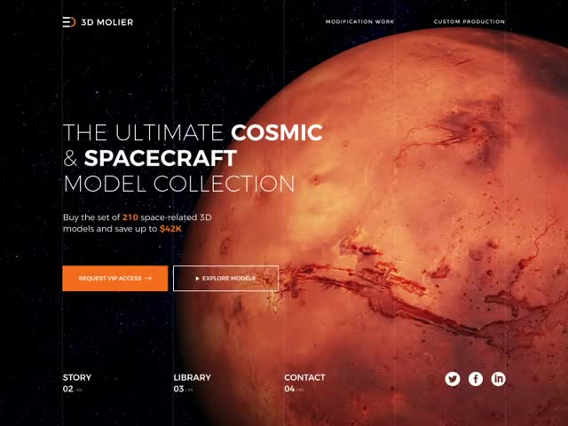 Watch and share 3d Space Model Store Animation GIFs on Gfycat