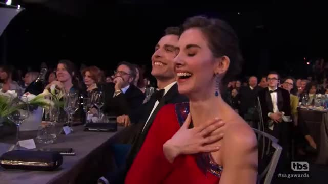 Watch this alison brie GIF by GIF Reactions (@visualecho) on Gfycat. Discover more alison brie, sag awards, sagawards GIFs on Gfycat
