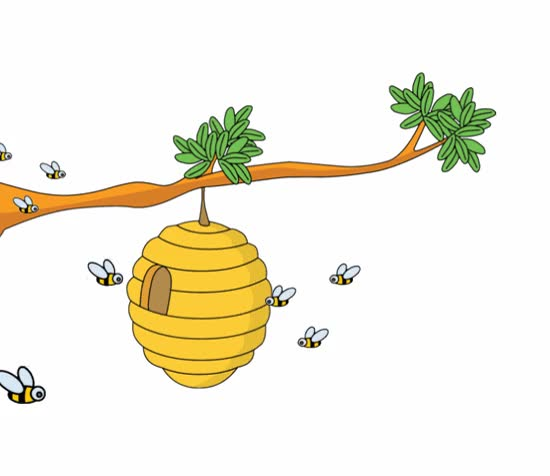 Watch and share Bees And Beehives Clipart Clipart GIFs on Gfycat