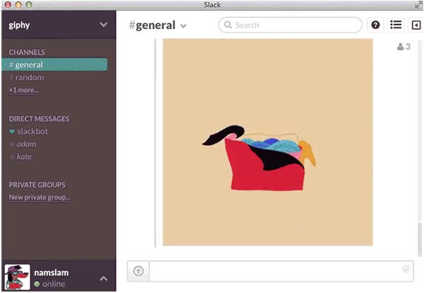 Watch and share Slack Adds  To Every Chatroom. WUT?! | animated stickers on Gfycat