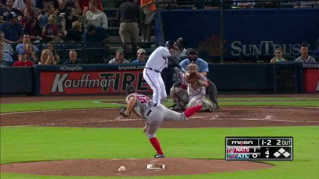 Watch Revere robs Freeman GIF by efitz11 (@efitz111) on Gfycat. Discover more baseball GIFs on Gfycat