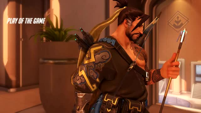 Watch and share Overwatch GIFs and Hanzo GIFs by lucidchip on Gfycat