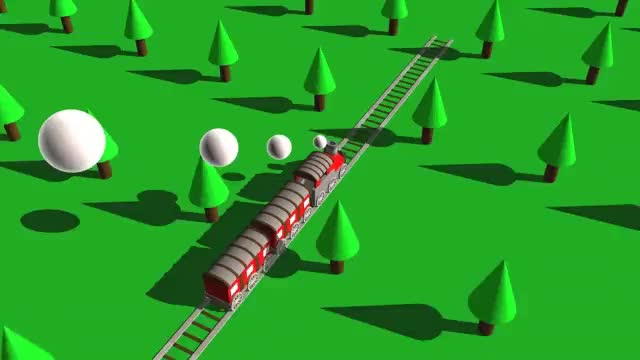 Watch and share I've Been Trying To Loop Some Of My CGI Lately, Here's A Train. (reddit) GIFs on Gfycat