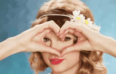 cute, heart, hearts, i love you, love, sweet, swift, taylor, u, you, Taylor Swift - Heart GIFs