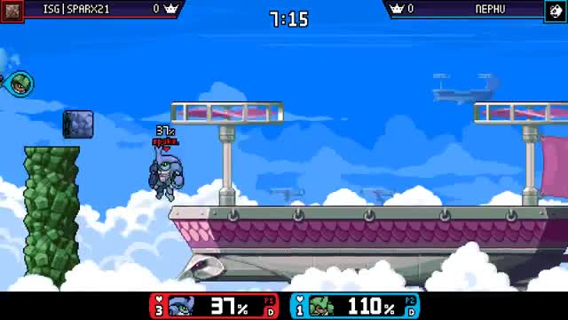 Watch and share Utilt Stage Spike Lul GIFs by sparx21 on Gfycat