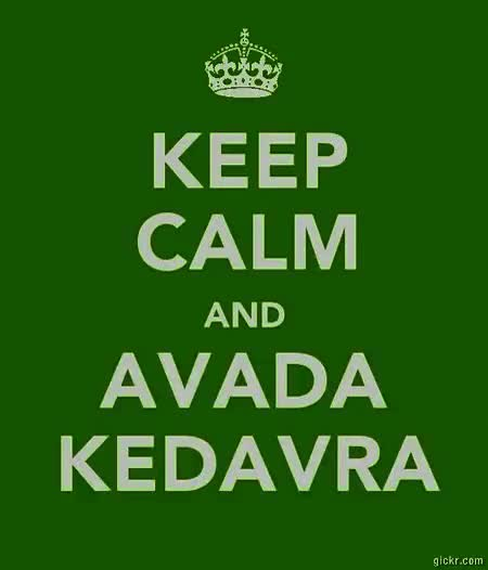 Watch and share Avada Kedavra GIFs and Harry Potter GIFs on Gfycat