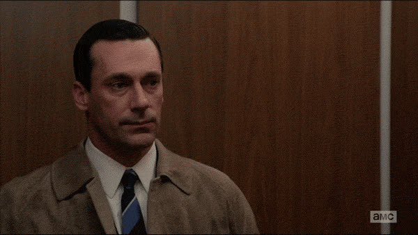 …I've resolved to check elevators before I leap in the future. GIFs