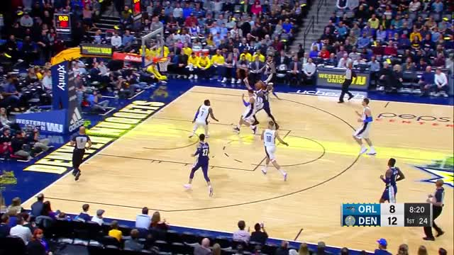 Watch Murray3 GIF on Gfycat. Discover more Denver Nuggets, Orlando Magic, basketball GIFs on Gfycat