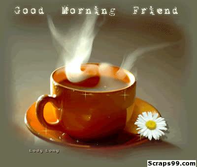 Shining Cup Good Morning Wg023377 Gif Find Make Share Gfycat Gifs
