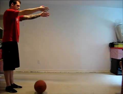 Watch and share Bouncing Ball Basketball Reference 24fps GIFs on Gfycat