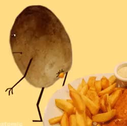 Watch and share How French Fries Are Made GIFs on Gfycat