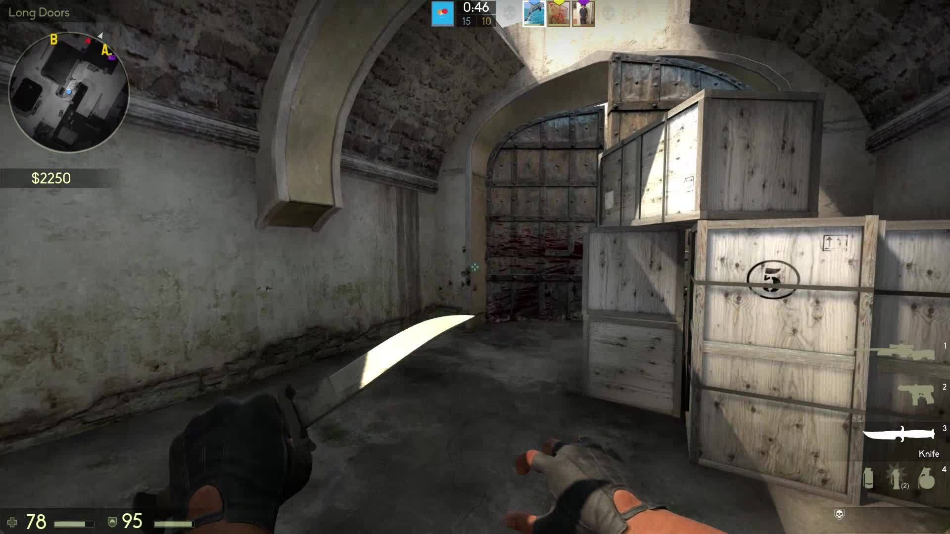 60fpsgifs, Sneaky Bhop at the end of the round GIFs