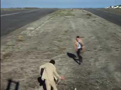 Watch and share The In-Laws (1979): Getting Off The Plane In Tijuara GIFs on Gfycat