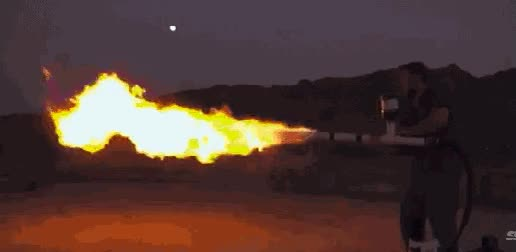 Watch and share Flamethrower GIFs on Gfycat