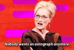 Watch meryl streep GIF on Gfycat. Discover more Graham Norton Show, Meryl Streep, fionagoddess, gif, interview, ow GIFs on Gfycat