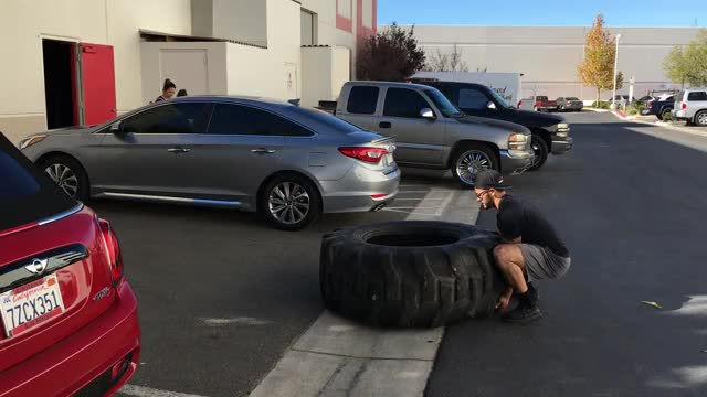 Watch Tire Flip to Tire Jump GIF by Gymapp (@hardcoregym) on Gfycat. Discover more related GIFs on Gfycat