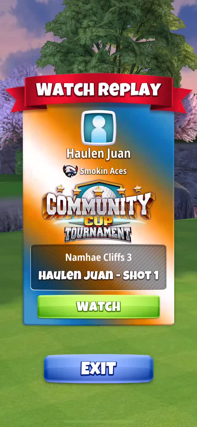 Watch Community Cup - Masters - Hole 4 Drive HJ HIO GIF on Gfycat. Discover more related GIFs on Gfycat