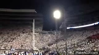 Watch and share Penn State Student Section - We Are Penn State GIFs on Gfycat