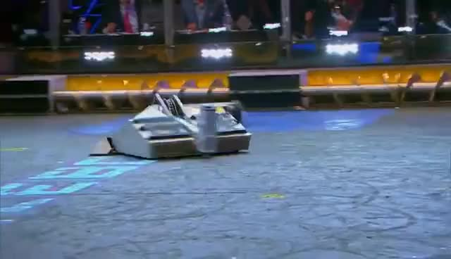 Watch Blacksmith vs. Minotaur - BattleBots GIF on Gfycat. Discover more related GIFs on Gfycat